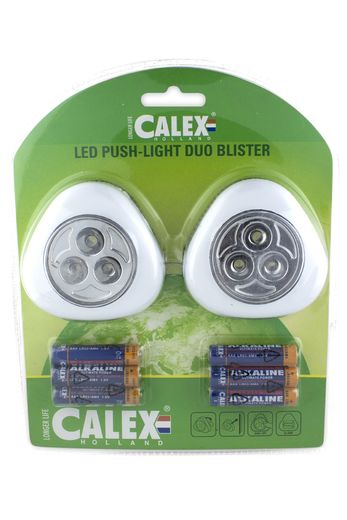 Calex LED push-light duo